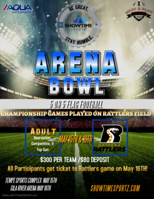 Arena Bowl 2021 @ Tempe Sports Complex and Gila RIver Arena